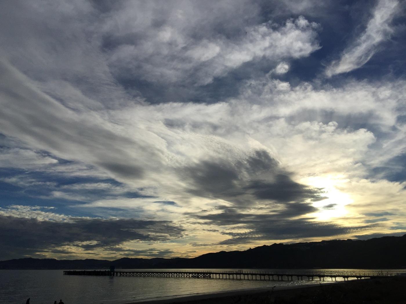 Sunset, Petone, New Zealand